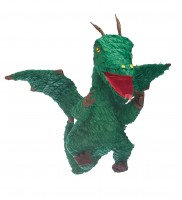 Green Dragon Pinata 35 x 22 x 63 cm