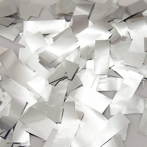 Party Popper Silver Confetti Rain