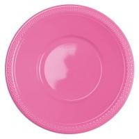 10 Kunststoff Schüsseln Mila rosa 355ml