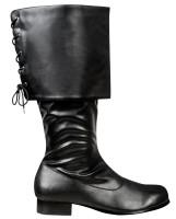 Piraten-Stiefel Lederoptik Herren