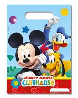 6 Mickeys Clubhouse Geschenktüten