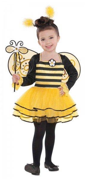 Sweet bees children's costume 4-piece