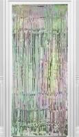 Irrisierender Fransen Türvorhang 92cm x 2,44m