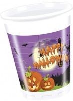 8 Gruselvilla Halloween Becher 200ml