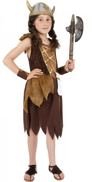 Dotta Viking girl child costume