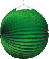 Garten Party Papier Lampion Smaragdgrün 25cm