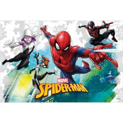 Spiderman Team Up Tischdecke 1,8 x 1,2m