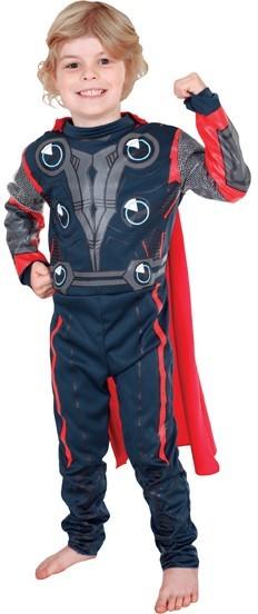 Thor justitie vechter kostuum kind