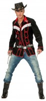 Schwarzes Cowboyhemd Raphael