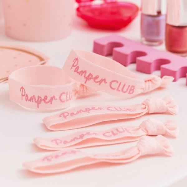 5 Pamper Party Haarbänder