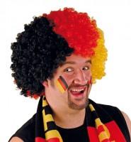 Deutschland Fan Afro Perücke