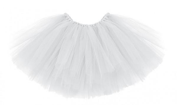 Tutu ballerine blanche 50 x 25cm