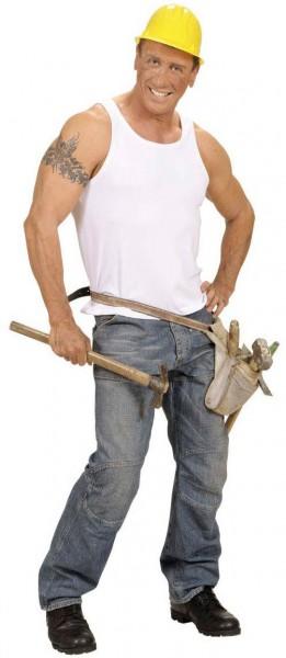 Bauarbeiter Herren Hemd