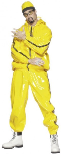 Gangster rapper costume yellow