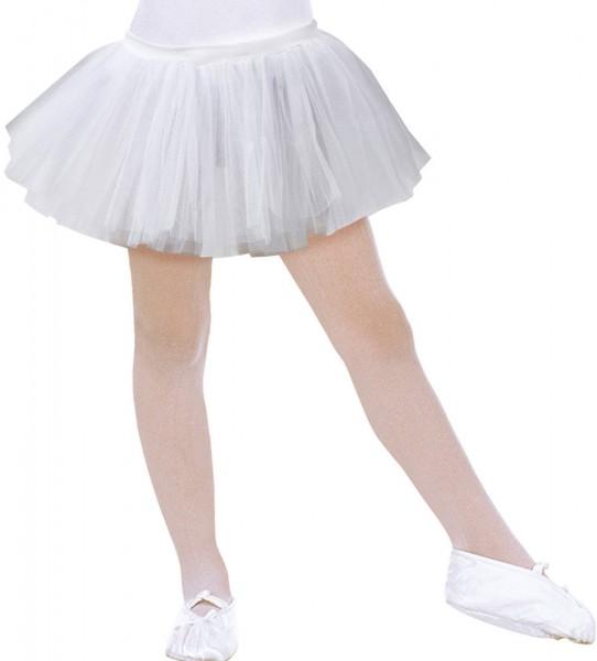 Cute ballerina pleated tutu