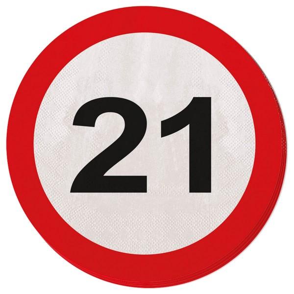 20 tovaglioli zona 21 33 cm