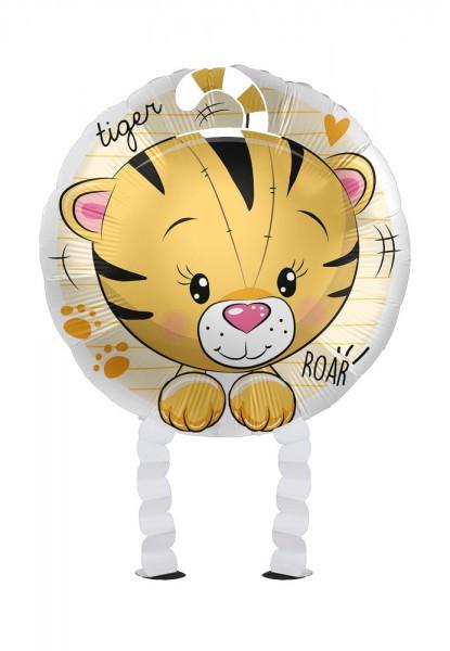 Kleiner Tiger Airwalker Folienballon 43cm