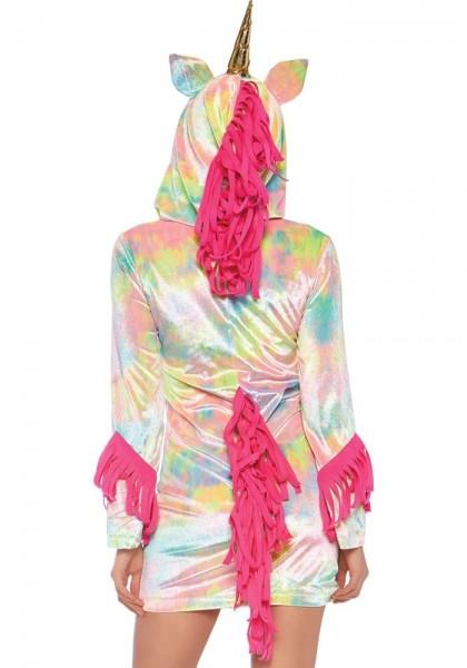 Regenbogen Einhorn Kleid für Damen