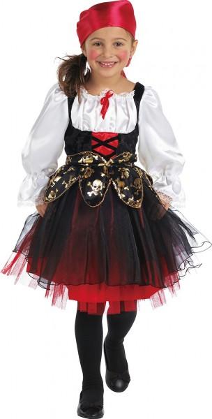 Süßes Piratenkleid Mit Kopftuch Für Kinder