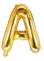 Folienballon A gold 35cm
