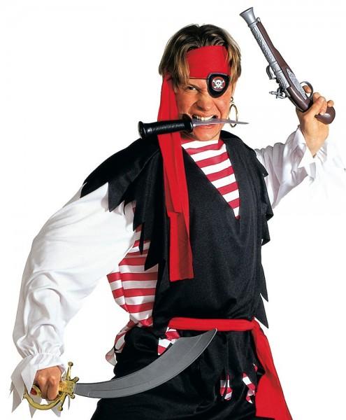 2-piece pirate costume set