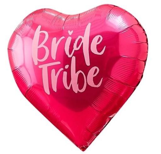 5 Bride Tribe Folienballons 45cm