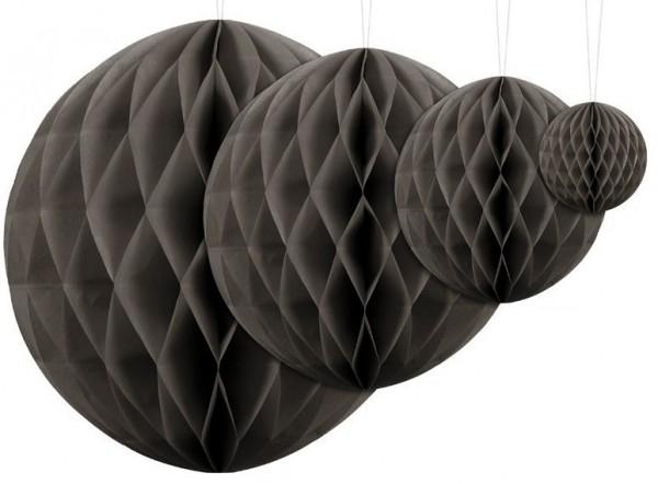 Honeycomb ball Lumina anthracite 10cm