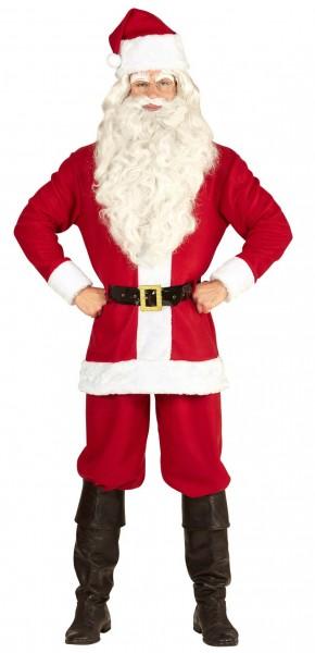 Klassisches Weihnachtsmannkostüm