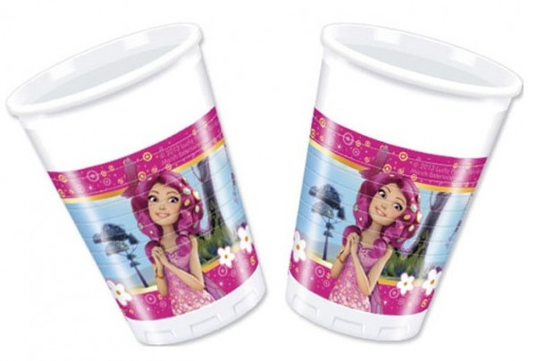 8 Mia & Me Feenparty Becher 200ml