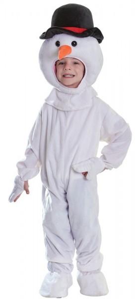 Mr Snowflake plush kids costume