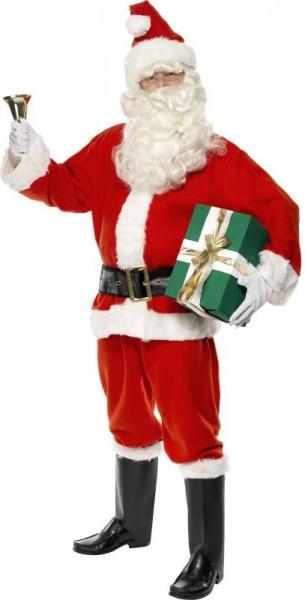 Disfraz de Santa Claus 6 piezas