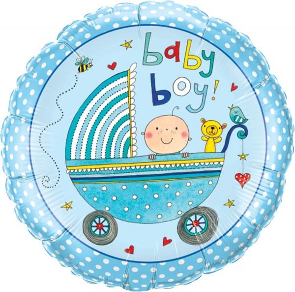 Ballon aluminium Baby Boy Levi