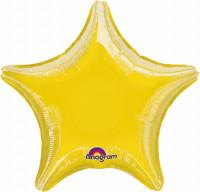Sparkling Star Ballon gelb