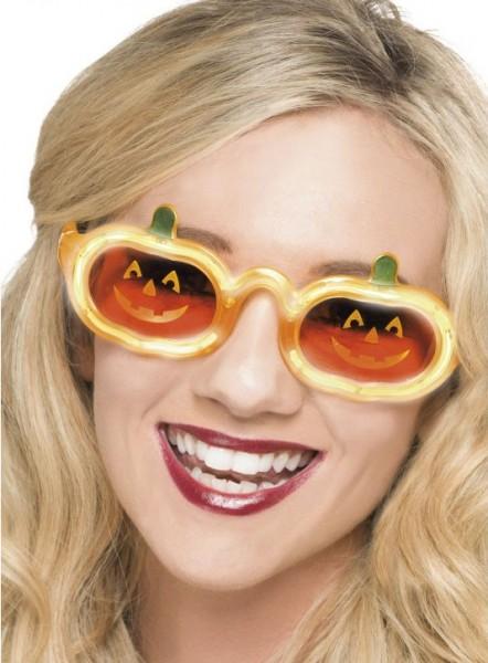 Halloween Kürbis Scherzartikel Brille Mit Leuchtfunktion