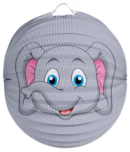Lanterne d'éléphant mignon