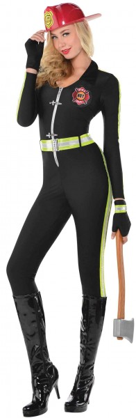 Sexy fire chief catsuit