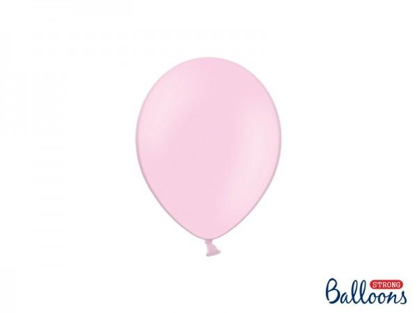 100 Partystar Luftballons hellrosa 12cm