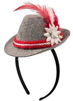 Mini chapeau traditionnel avec serre-tête