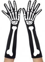Klassische Skelett Handschuhe