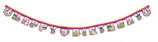 Buchstaben Girlande Barbie Kindergeburtstag 165cm