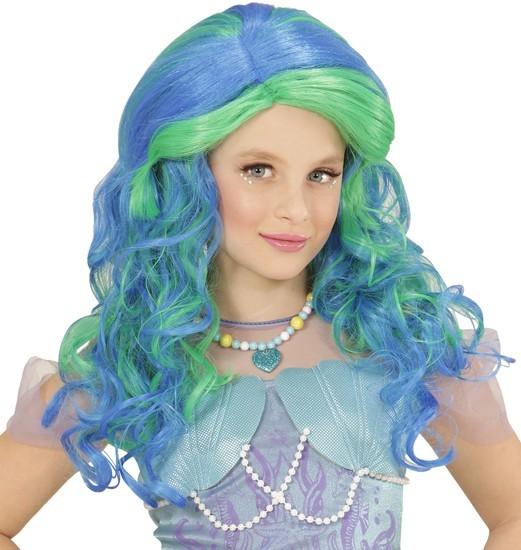 Meerjungfrau Jill Kinderperücke