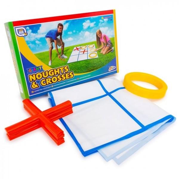 Tic-Tac-Toe familie spil til haven