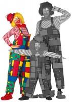 Salopette Peppa le clown pour femme