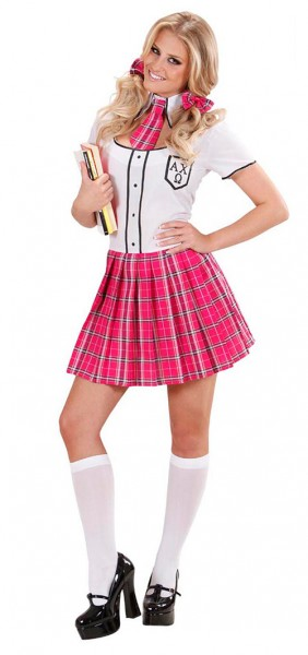 Sexy college girl ladies costume