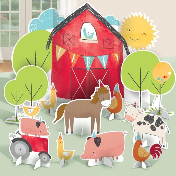 11 Happy Farm Life Tischaufsteller
