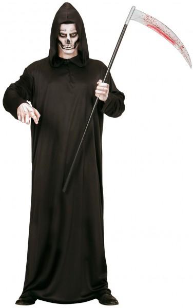 Demon skelet man kostuum