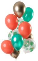 12 Tropische Juwelen Luftballons 30cm