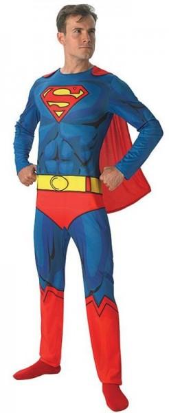 Superman Muskelpack Herrenkostüm