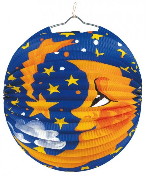 Carino Lanterna di Babbo Natale Moon & Stars 25cm