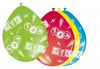 8 Schulstart Luftballons 30cm